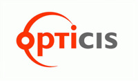 인기 검색 기업 옵티시스의 로고 이미지