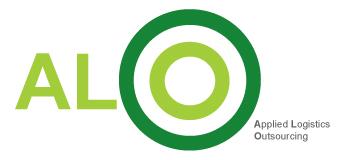 애경의 계열사 에이엘오(주)의 로고