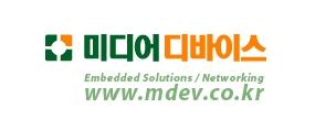 누리플랜의 계열사 (주)미디어디바이스의 로고