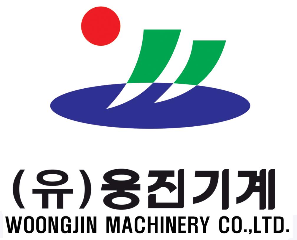 (유)웅진기계의 기업로고