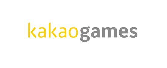 카카오의 계열사 (주)카카오게임즈의 로고
