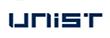 과학기술정보통신부의 계열사 울산과학기술원의 로고