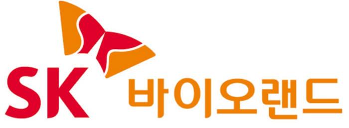 SK의 계열사 SK바이오랜드(주)의 로고