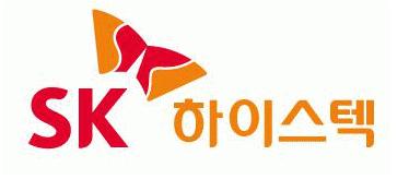 SK의 계열사 에스케이하이스텍(주)의 로고
