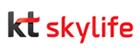 케이티의 계열사 (주)케이티스카이라이프의 로고