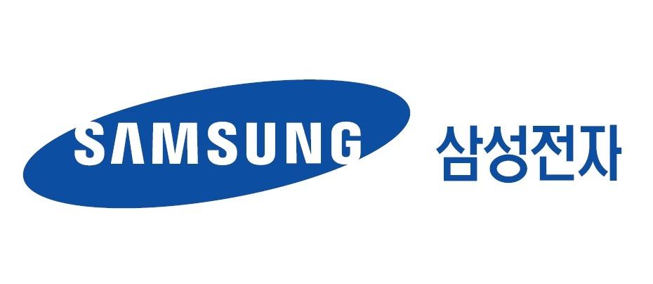 삼성의 계열사 삼성전자(주)의 로고