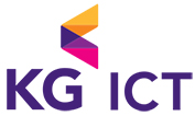 KG의 계열사 (주)케이지아이씨티의 로고