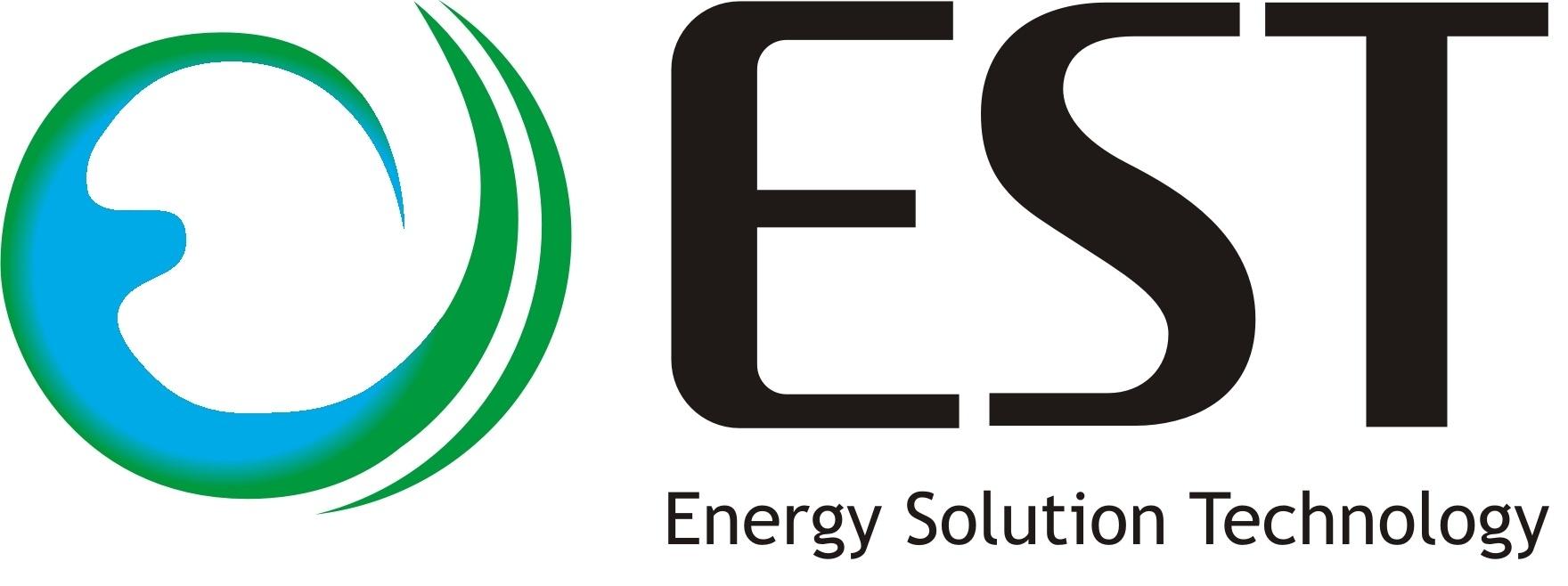 글로벌스탠다드테크놀로지의 계열사 (주)이에스티의 로고