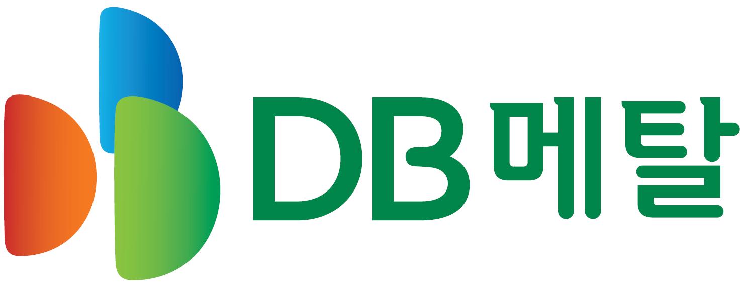 DB의 계열사 (주)디비메탈의 로고