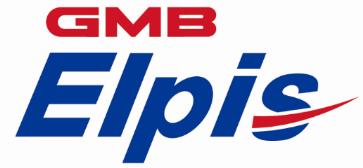 지엠비코리아의 계열사 지엠비엘피스(주)의 로고