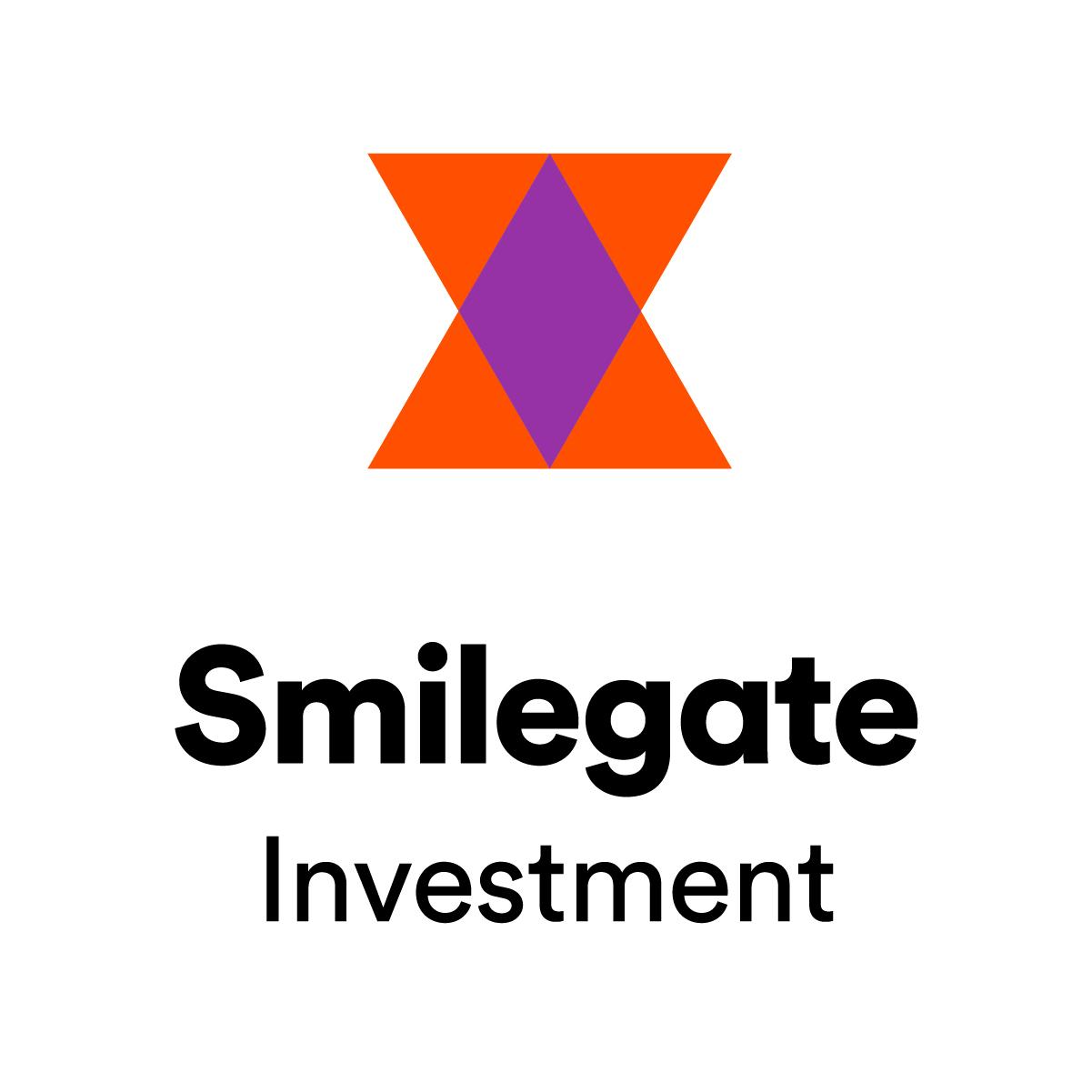 스마일게이트홀딩스의 계열사 스마일게이트인베스트먼트(주)의 로고