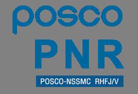 포스코의 계열사 (주)피엔알의 로고