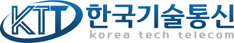 (주)한국기술통신의 기업로고