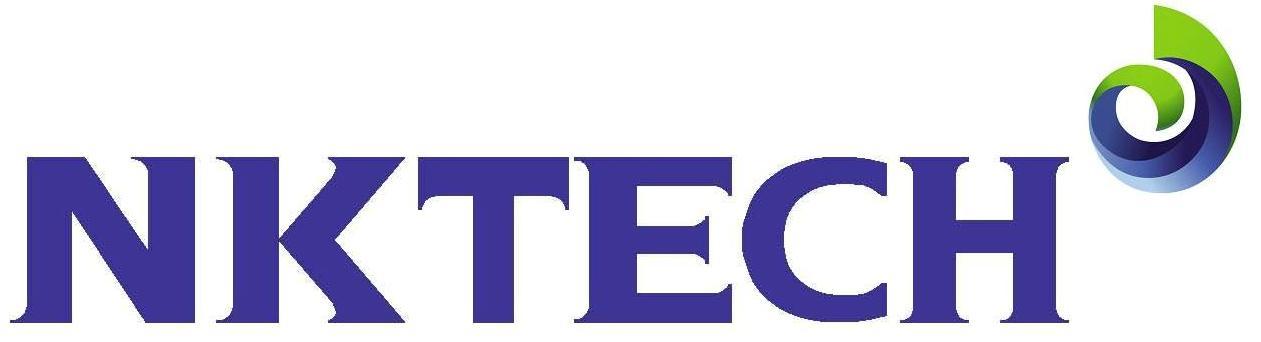 엔케이의 계열사 (주)엔케이텍의 로고