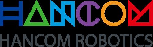 한컴위드의 계열사 (주)한컴로보틱스의 로고