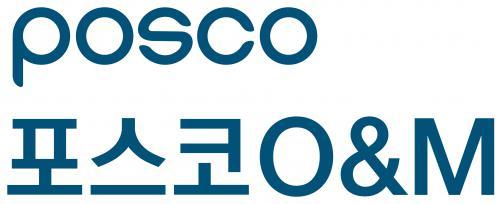 포스코의 계열사 (주)포스코오앤엠의 로고