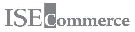 아이에스이네트워크의 계열사 (주)아이에스이커머스의 로고
