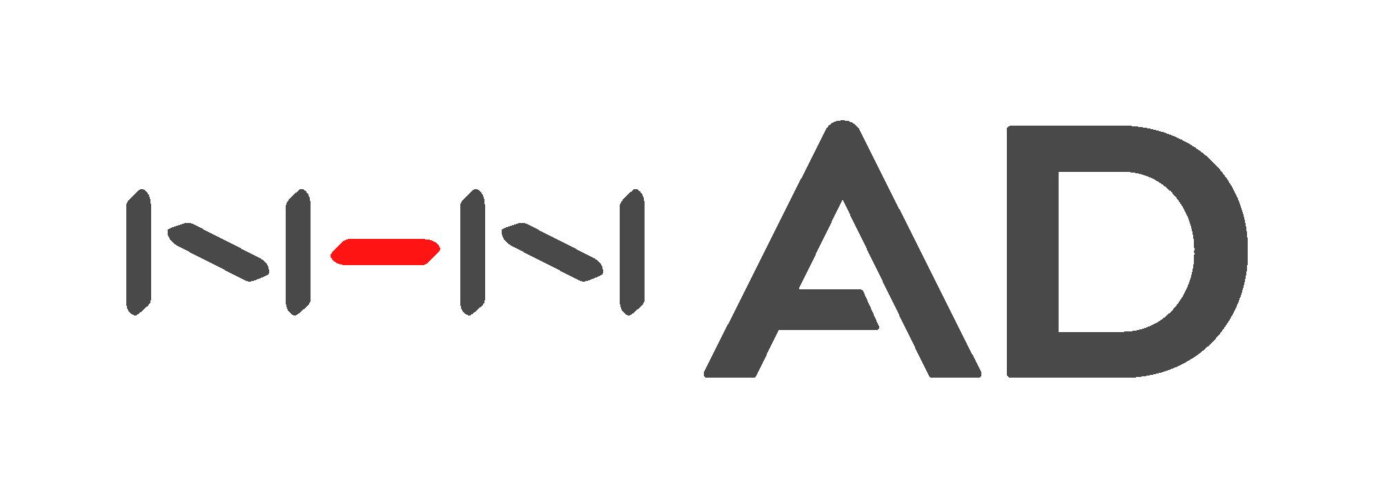 엔에이치엔의 계열사 엔에이치엔애드(주)의 로고