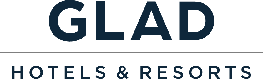 대림의 계열사 글래드호텔앤리조트(주)의 로고