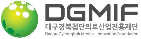 보건복지부의 계열사 (재)대구경북첨단의료산업진흥재단의 로고