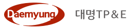 대명소노의 계열사 (주)대명티피앤이의 로고