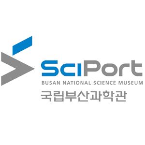 과학기술정보통신부의 계열사 국립부산과학관의 로고