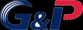 엘에스의 계열사 (주)지앤피의 로고