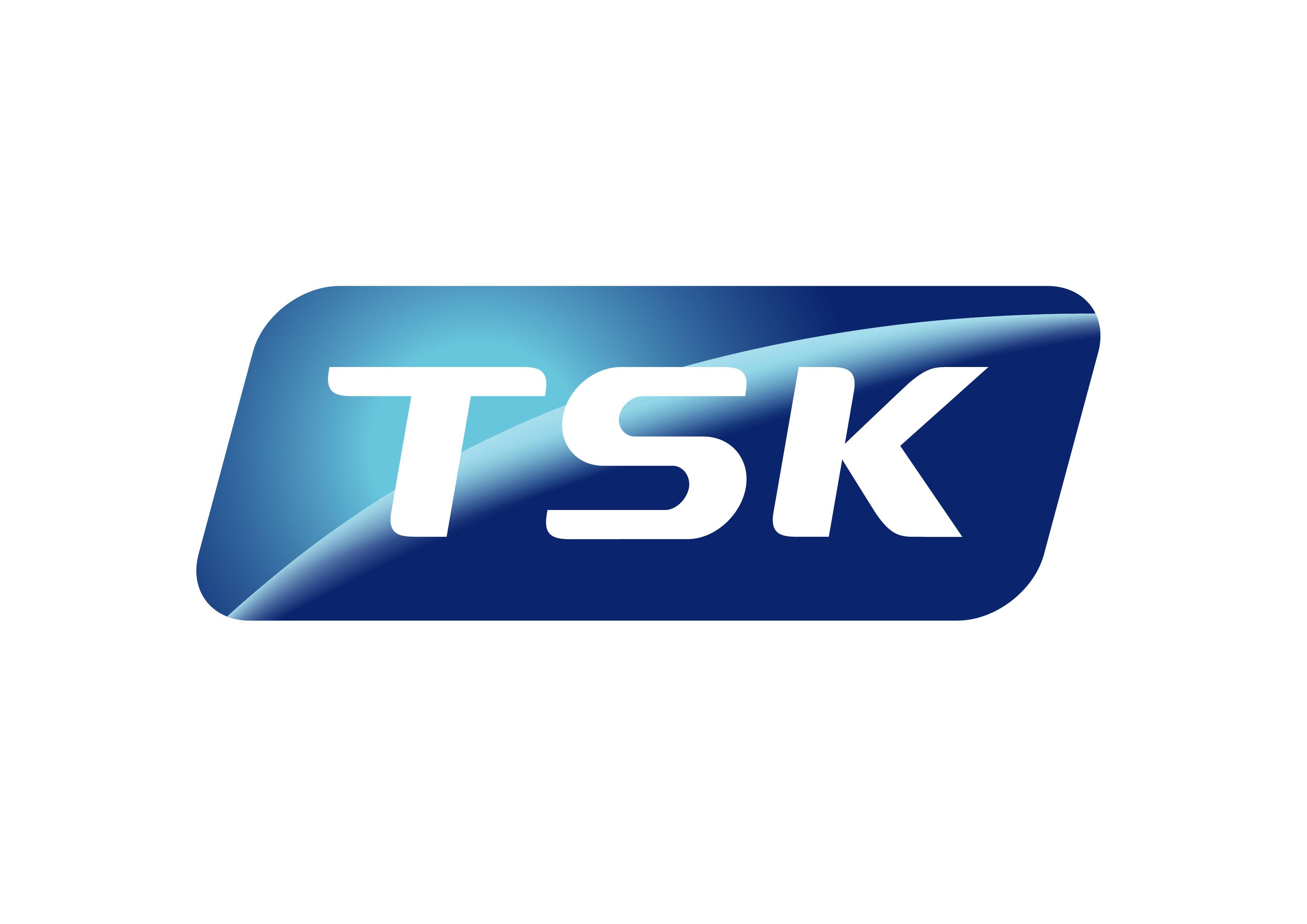 태영의 계열사 (주)티에스케이코퍼레이션의 로고