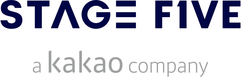 카카오의 계열사 (주)스테이지파이브의 로고