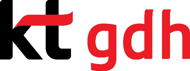 케이티의 계열사 케이티지디에이치(주)의 로고
