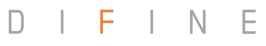 파인디지털의 계열사 (주)디파인의 로고