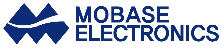 서연의 계열사 (주)모베이스전자의 로고