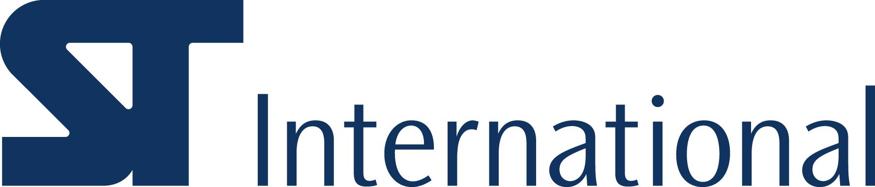 삼천리의 계열사 (주)에스티인터내셔널코퍼레이션의 로고