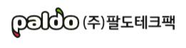 한국야쿠르트의 계열사 (주)팔도테크팩의 로고