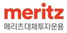 메리츠금융의 계열사 메리츠대체투자운용(주)의 로고