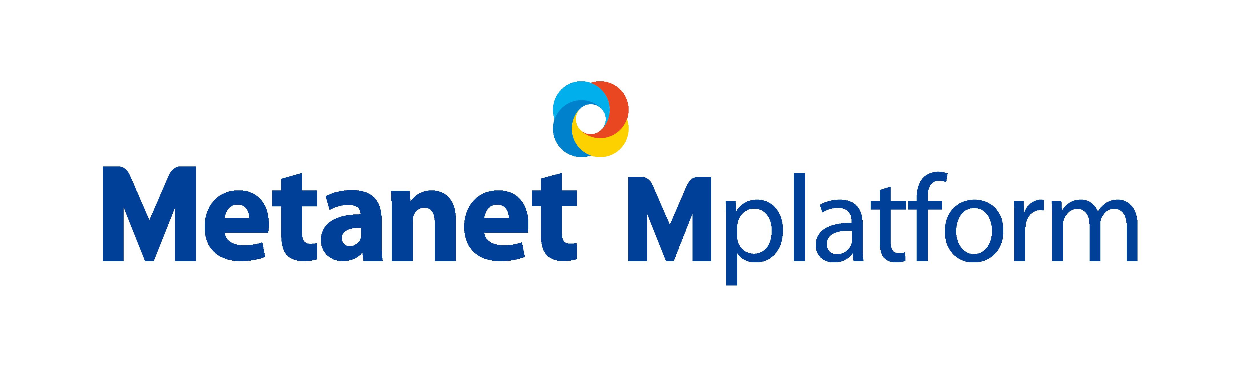 (주)메타넷엠플랫폼의 기업로고