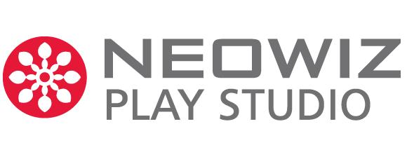 네오위즈홀딩스의 계열사 (주)네오위즈플레이스튜디오의 로고