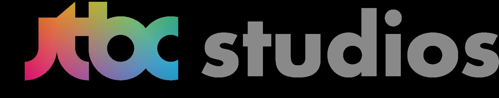 중앙일보의 계열사 제이티비씨스튜디오(주)의 로고