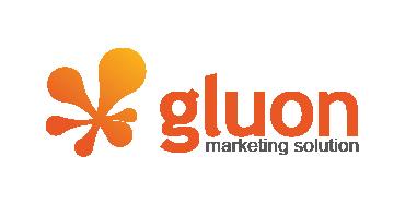 (주)글루온의 기업로고