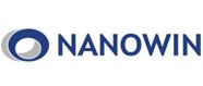 원익의 계열사 나노윈(주)의 로고