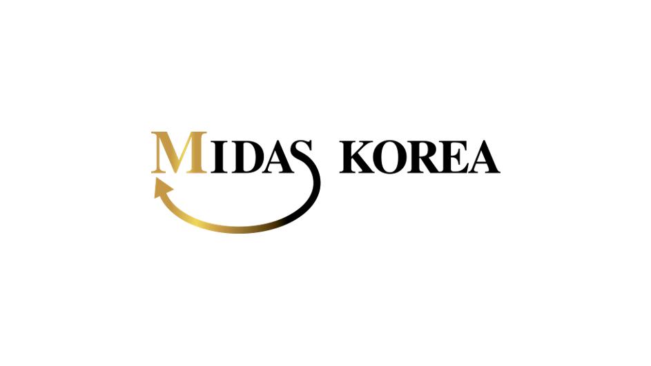 미다스코리아(MIDASKOREA) 의 기업로고