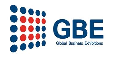 황금에스티의 계열사 글로벌비즈익시비션이벤트(주)의 로고