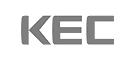 한국전자홀딩스의 계열사 (주)케이이씨의 로고