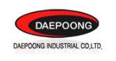 대우공업의 계열사 대풍공업(주)의 로고