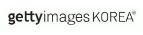 다우키움의 계열사 (주)게티이미지코리아의 로고