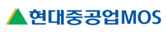 현대중공업의 계열사 현대중공업모스(주)의 로고