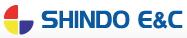 인지컨트롤스의 계열사 신도이앤씨(주)의 로고