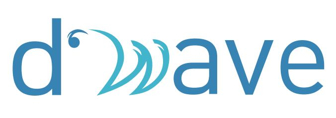 (주)디웨이브의 기업로고
