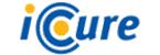 아이큐어의 계열사 아이큐어(주)의 로고