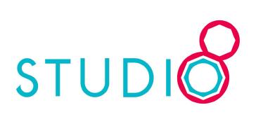 바른손의 계열사 (주)스튜디오8의 로고